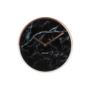 Ceas de perete Karlsson Marble Delight Copper