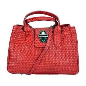 Kožená kabelka Dalila Red