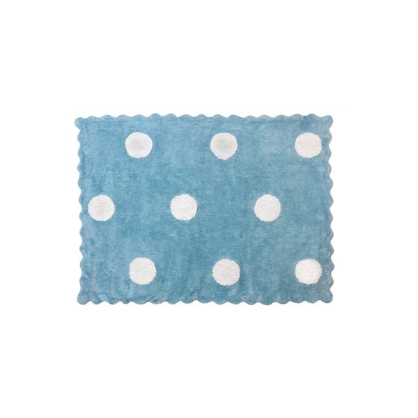 Koberec Topos 160x120 cm, modrý