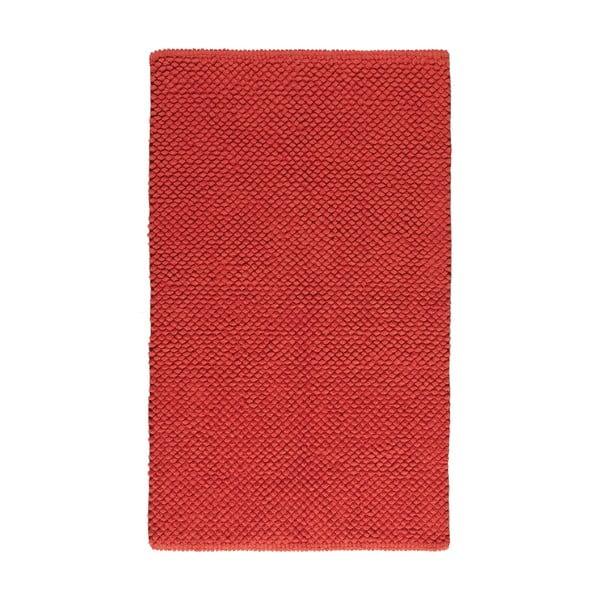 Koupelnová předložka Dotts Red, 60x100 cm
