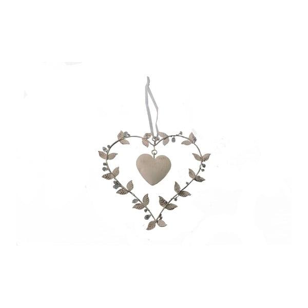 Dekoratívne závesné srdce Antic Line Heart