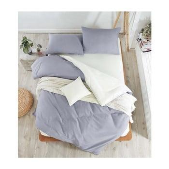 Lenjerie de pat cu cearșaf Permento Para, 200 x 220 cm de la EnLora Home