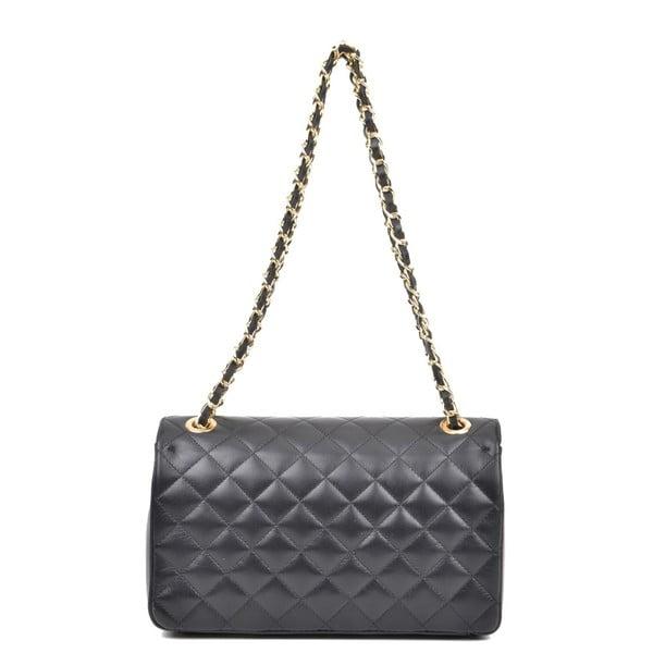 Černá kožená kabelka Isabella Rhea Swift