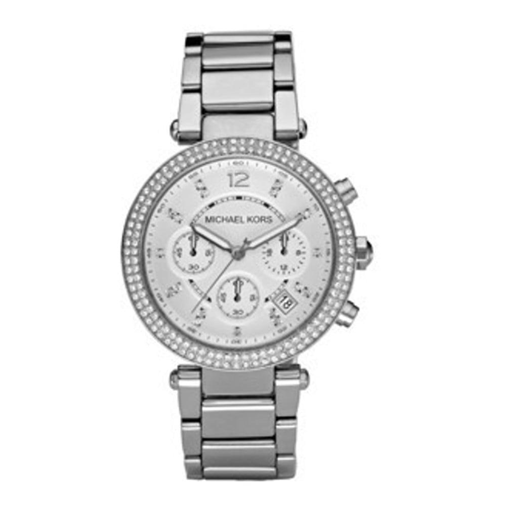 Dámské hodinky ve stříbrné barvě Michael Kors Parker