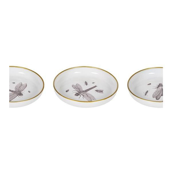 Sada 3 dekorativních talířů De Eekhoorn Insect