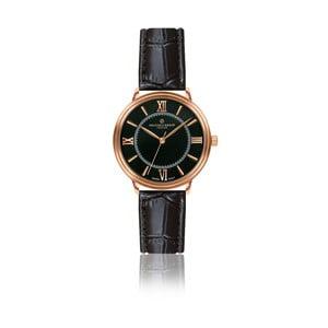 Dámské hodinky s černým páskem z pravé kůže Frederic Graff Zoe
