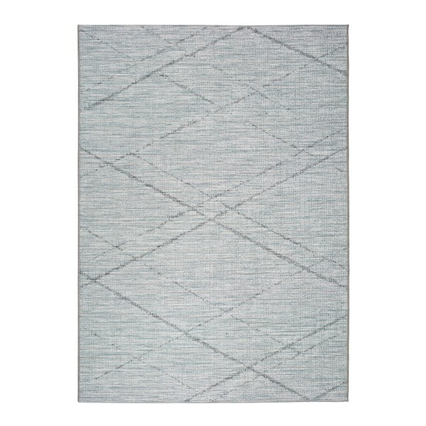 Covor pentru exterior Universal Weave Cassita, 130 x 190 cm, albastru-gri