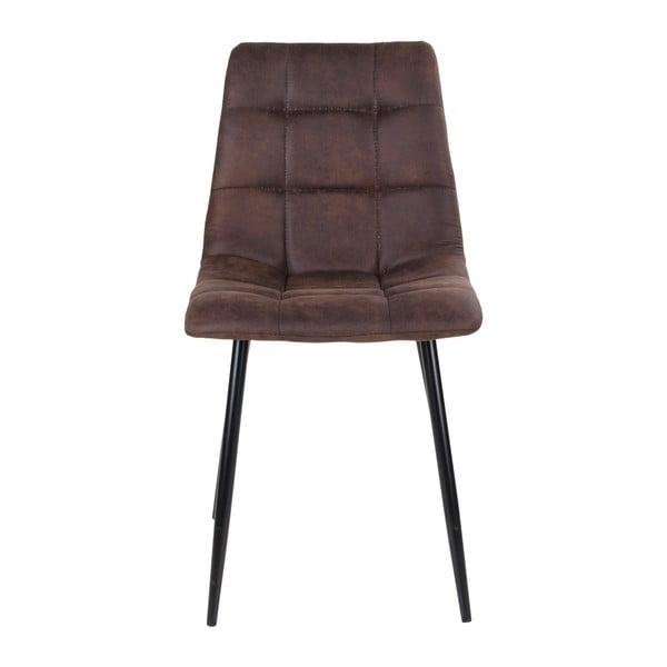 Sada 2 tmavohnedých jedálenských stoličiek House Nordic Middelfart