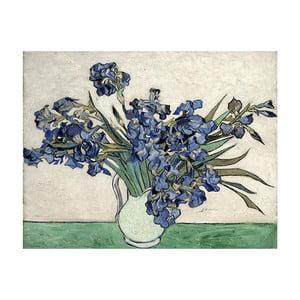 Tablou Vincent van Gogh - Irises 2, 40x26 cm