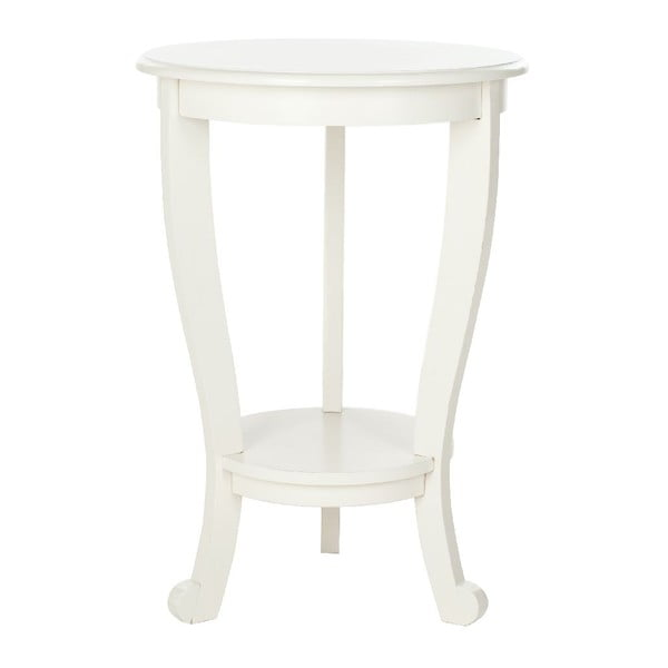 Odkládací stolek Safavieh Pedestal Cream