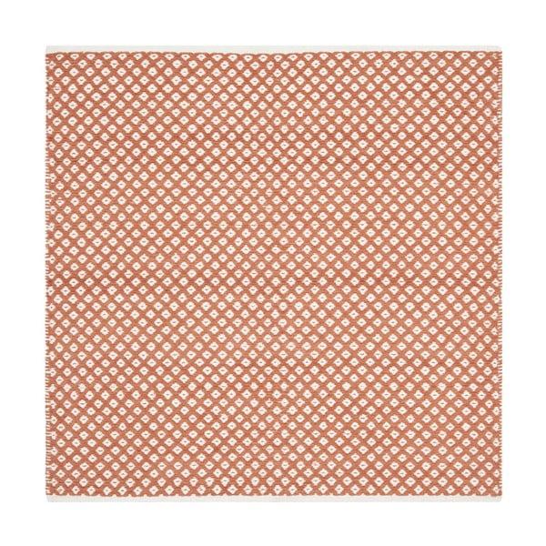 Koberec Nantucket 121x121 cm, červený