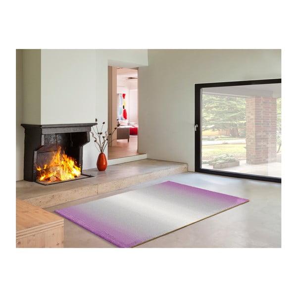Šedofialový koberec Universal Boras, 160x230cm