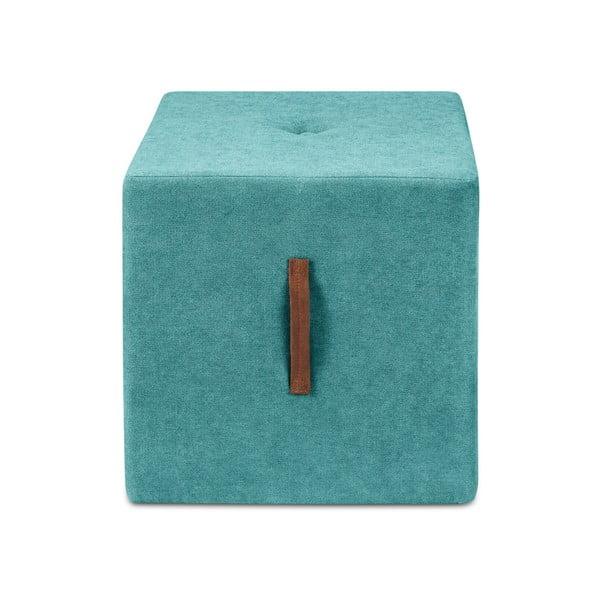 Tyrkysově modrá taburetka Kooko Home Bounce