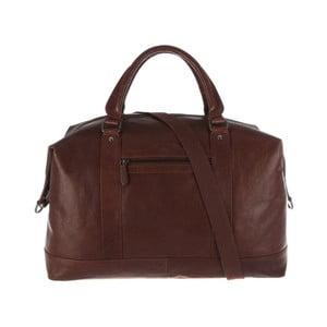 Kožená taška Monty Conker Brown
