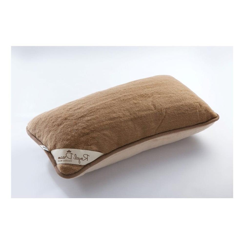 Vlněný polštář Royal Dream Merino, 40 x 70 cm
