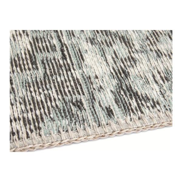 Světle modrý koberec Elle Decor Pleasure Denain, 80 x 150 cm