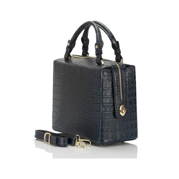 Modrá kožená kabelka Lisa Minardi Luciano