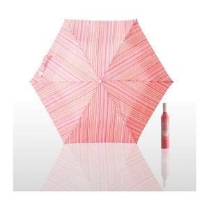 Skládací deštník Pattern, růžový