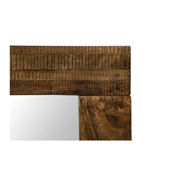 Nástěnné zrcadlo s rámem z mangového dřeva Jamila, délka120 cm