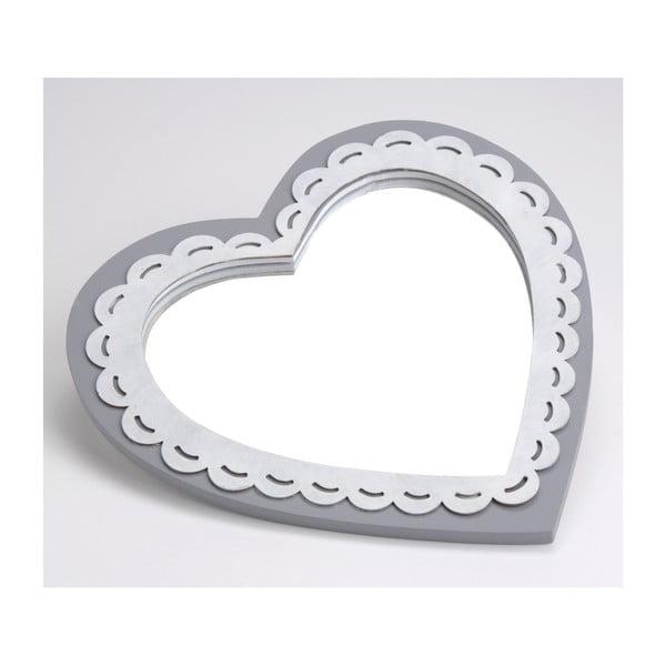 Zrcadlo Deauville Heart, 25x25 cm