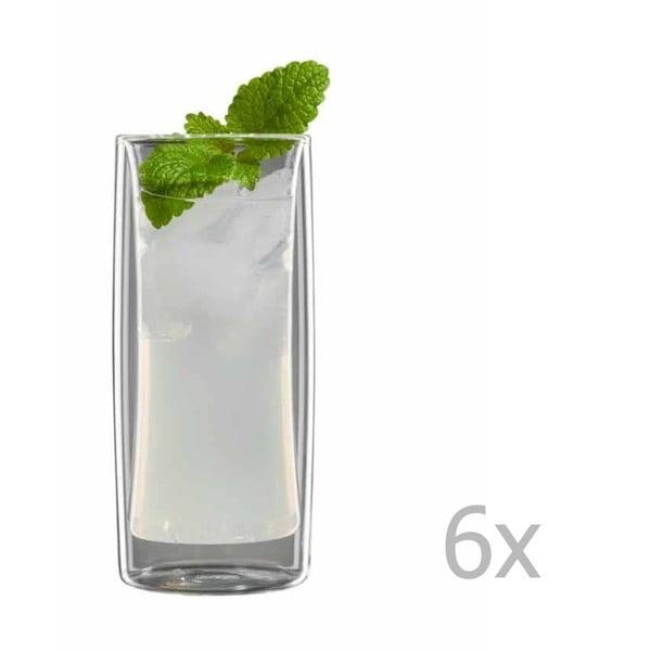 Sada 6 středních sklenic bloomix Kavex