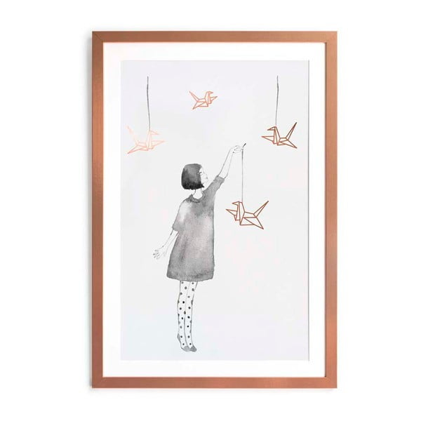 Plakat w ramie Little Nice Things Pajaritas, 40x60 cm
