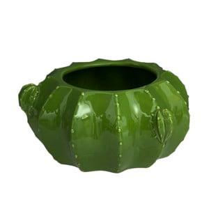Zelená váza SohoAndDeco Cactus