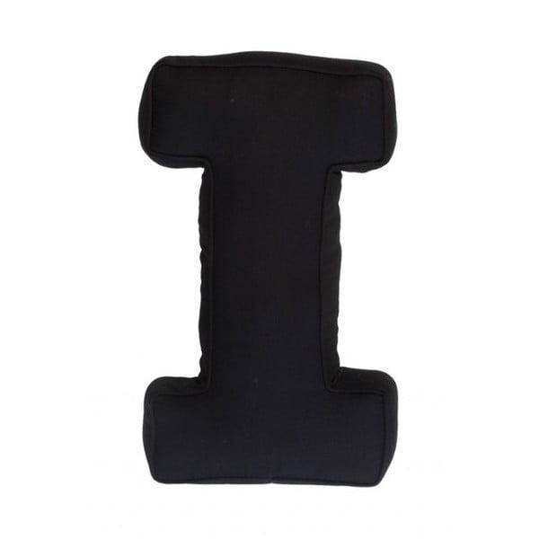 Látkový polštář I, černý