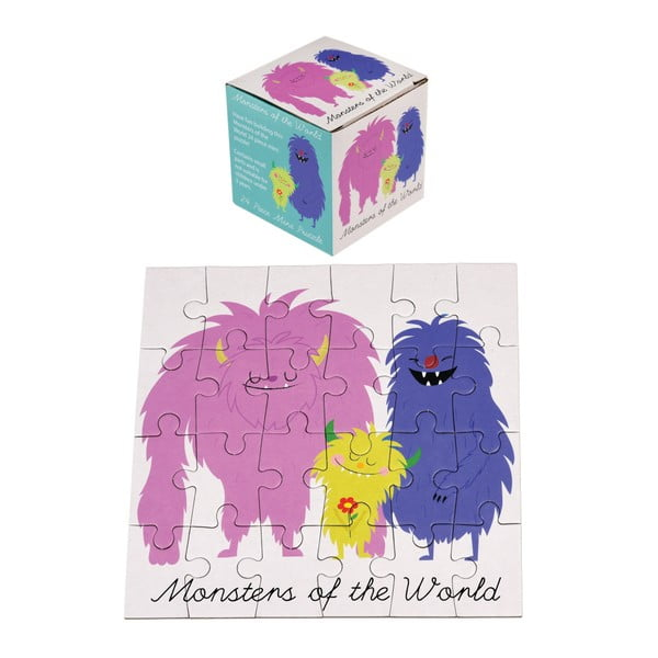 Puzzle 24 piese Rex London Monsters Of The World