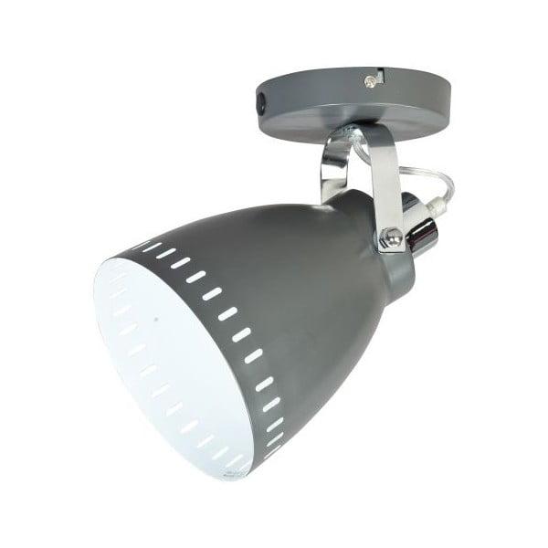 Šedá nástěnná lampička ETH Acate