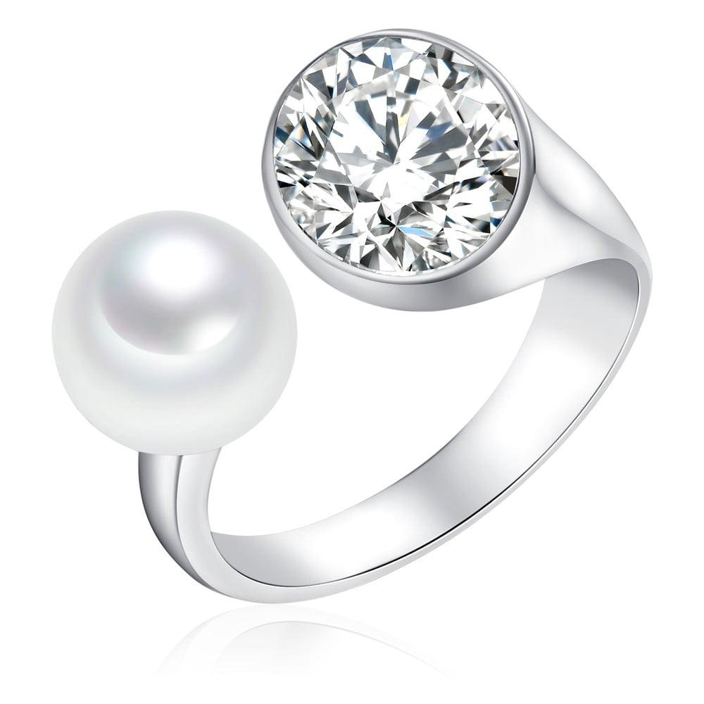 Perlový prsten Pearls Of London South Sea, vel.58