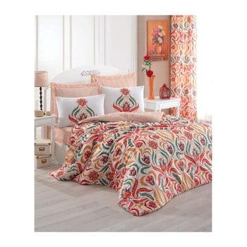 Lenjerie de pat cu cearșaf Ela, 200x220 cm de la Eponj Home