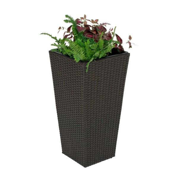 Ghiveci flori ADDU Planter, înălțime 70 cm, gri închis