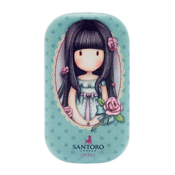 Modré pouzdro Santoro London, 8 x 5 cm