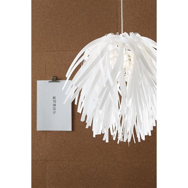 Bílé závěsné světlo Markslöjd Flora