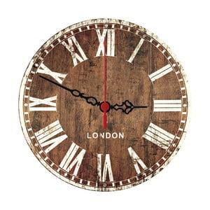 Nástěnné hodiny Wooden London, 30 cm