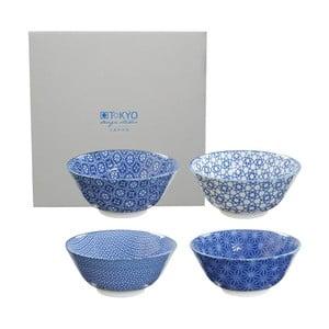 Set misek Tayo Nippon Blue, 15.2x6,7 cm, 4 ks