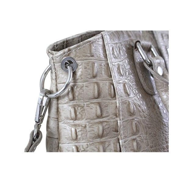 Kožená kabelka Dolce Michelle Blu Navy
