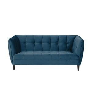Canapea cu 2 locuri Actona Jonna, lungime 182 cm,albastru