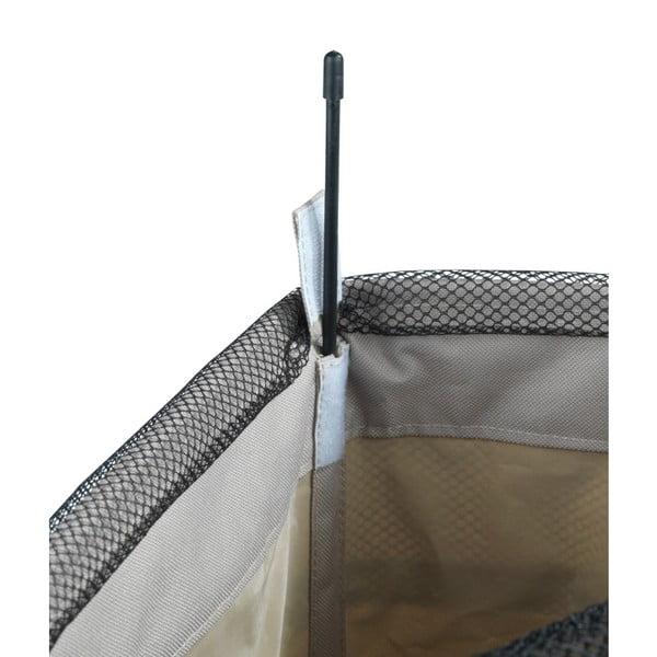 Coș de rufe Wenko Como, gri-bej, 44,4 l