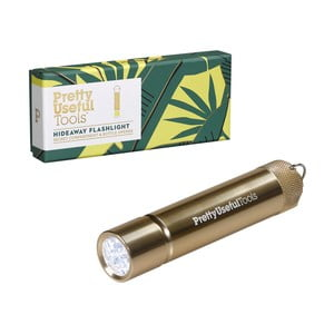 Kapesní baterka s otvírákem a skrýší na bankovky Pretty Useful Tools