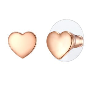 Dámské naušnice v barvě růžové zlata Runaway Elirado