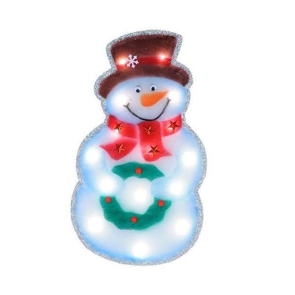 Svítící LED dekorace Snowman Silhouette