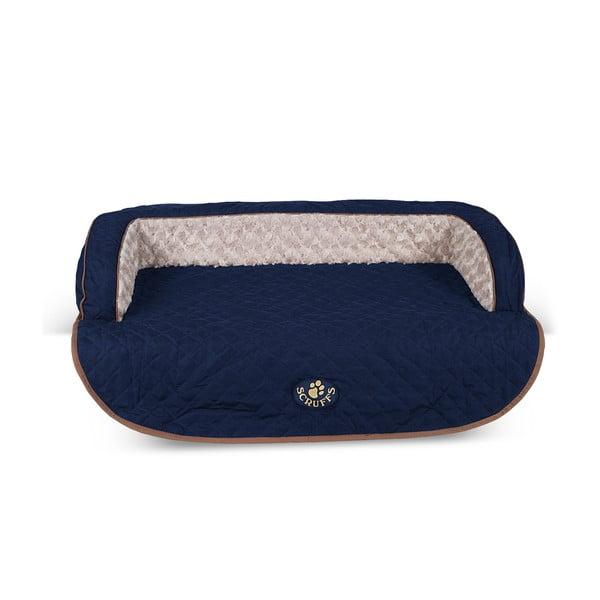Psí pelíšek Wilton Sofa Bed 90x70 cm, modrý