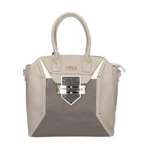 Kožená kabelka Modeste Nobo Mean Grey