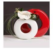 Váza Seina 28 cm, bílá