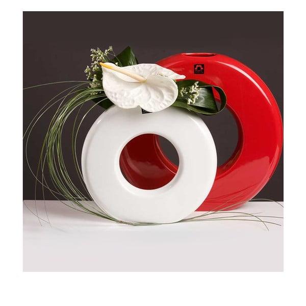 Váza Seina 35 cm, bílá