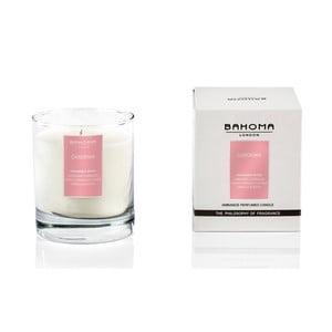 Lumânare parfumată Bahoma London, aromă de gardenie, 75 ore