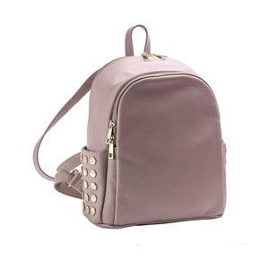 Růžový batoh z pravé kůže Andrea Cardone Antique Pikalo