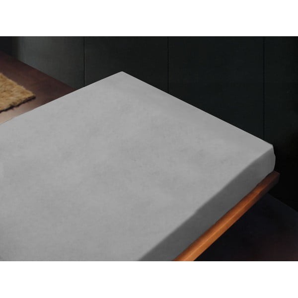 Prostěradlo Liso Gris Perla, 180x260 cm